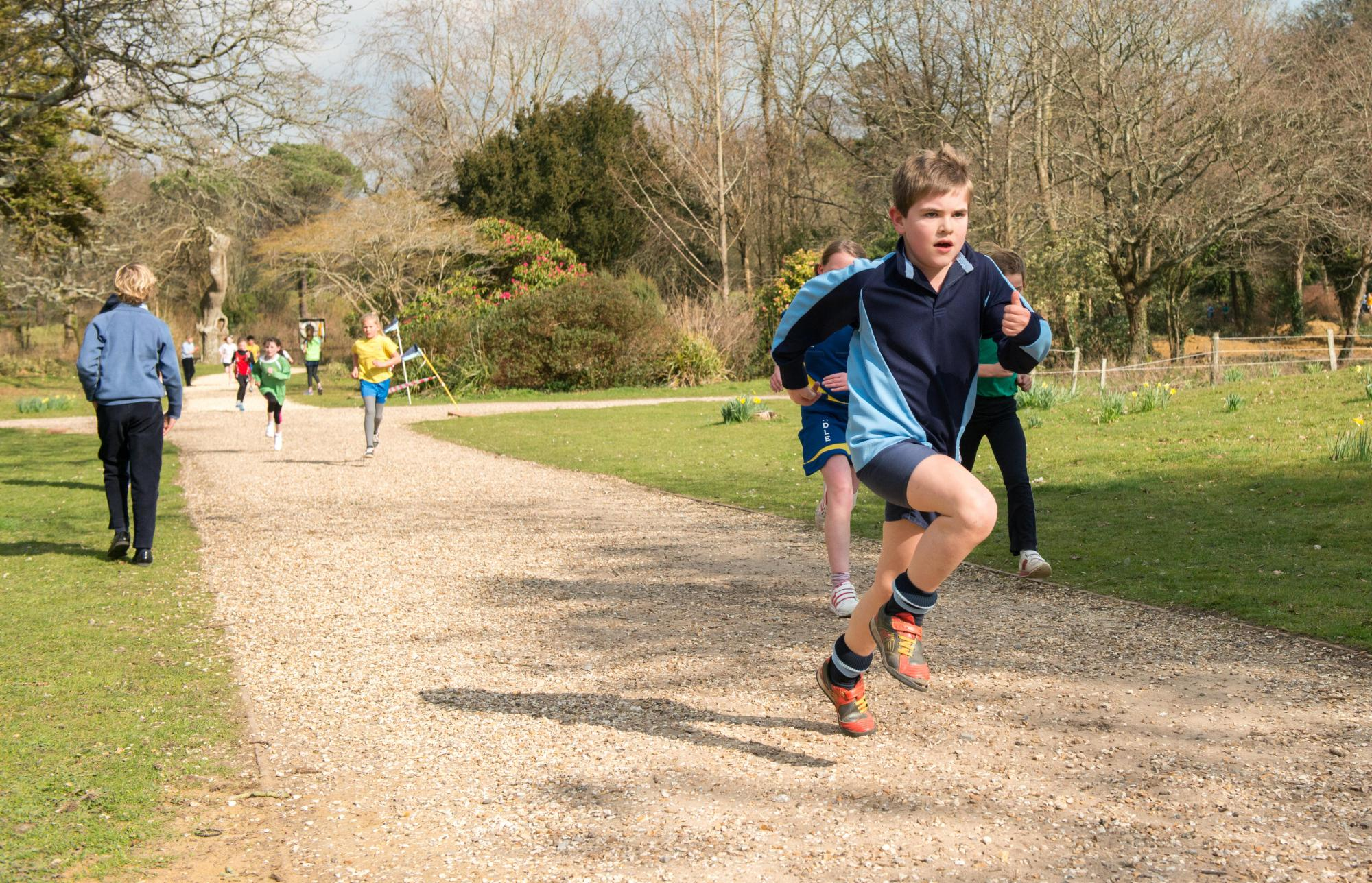 Walhampton cross-country