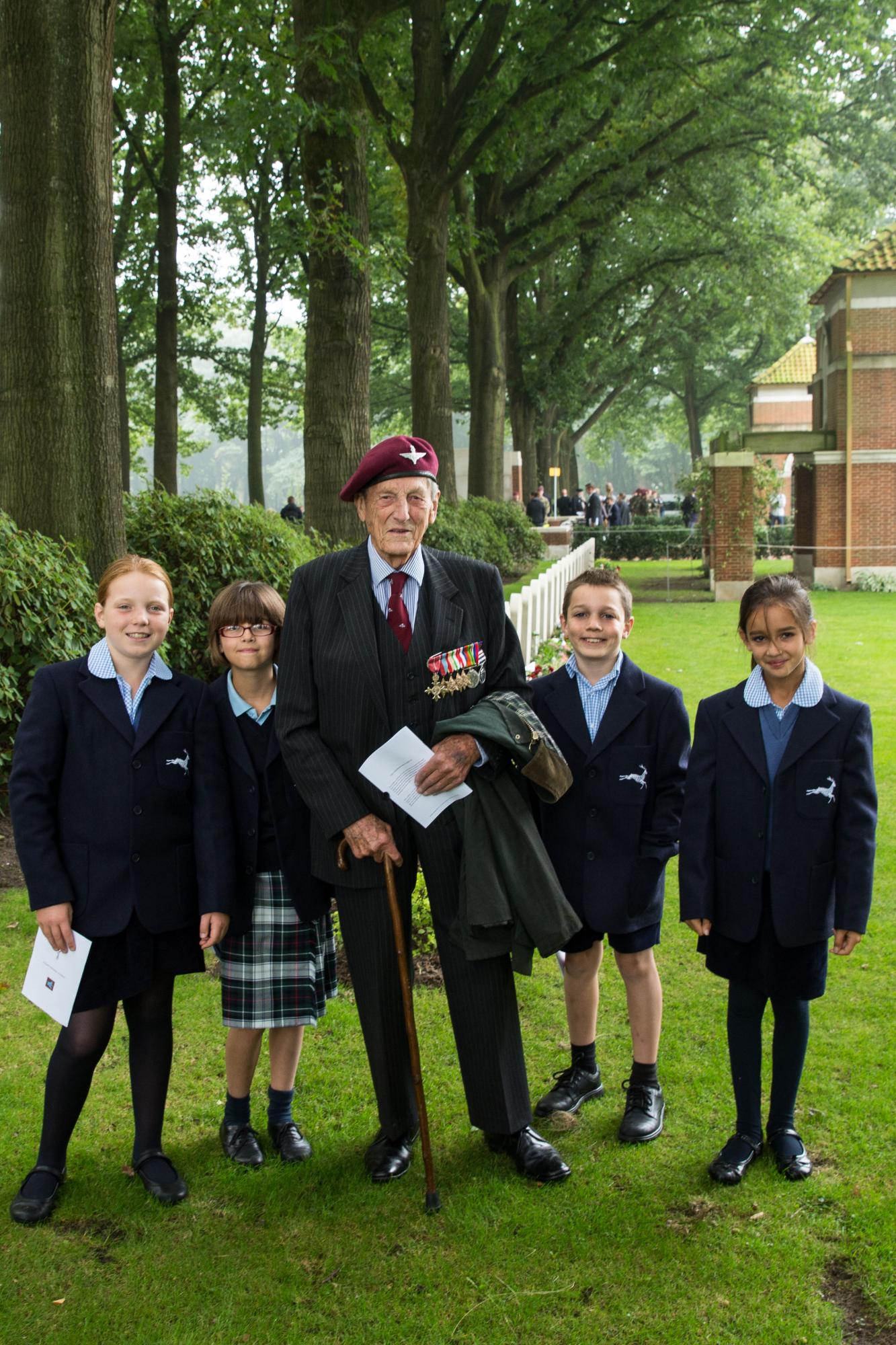 Walhampton commemoration trip to Arnhem