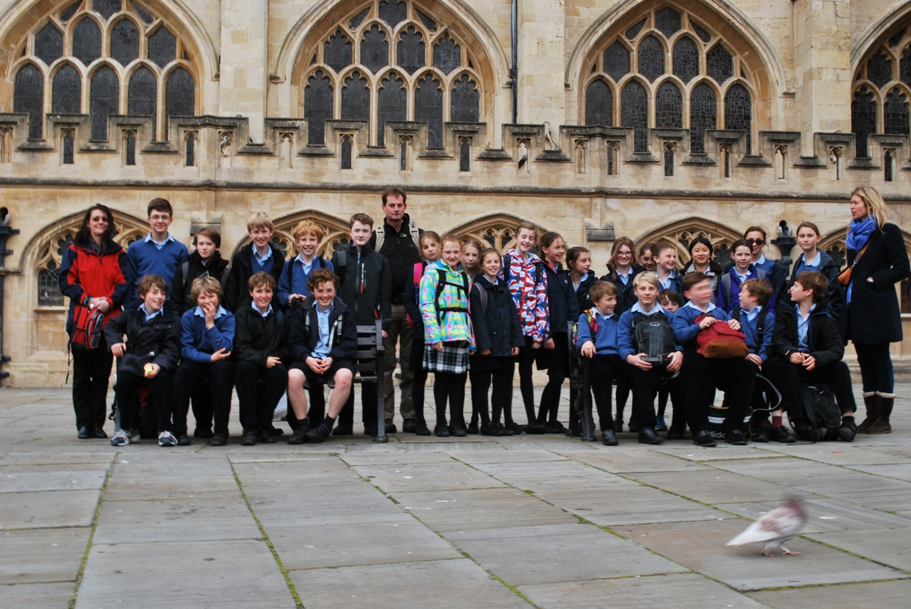 Walhampton School Latin trip to Bath