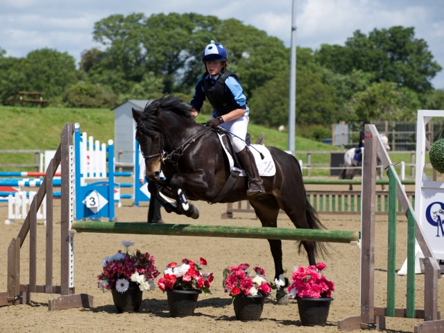 Walhampton School Horses Show Jumping Competition