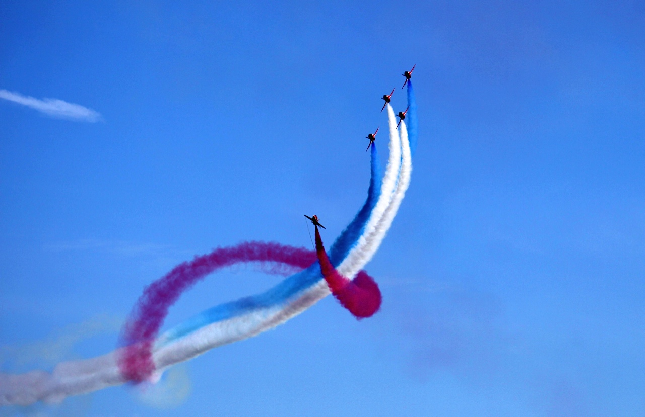 Red arrows Walhampton School