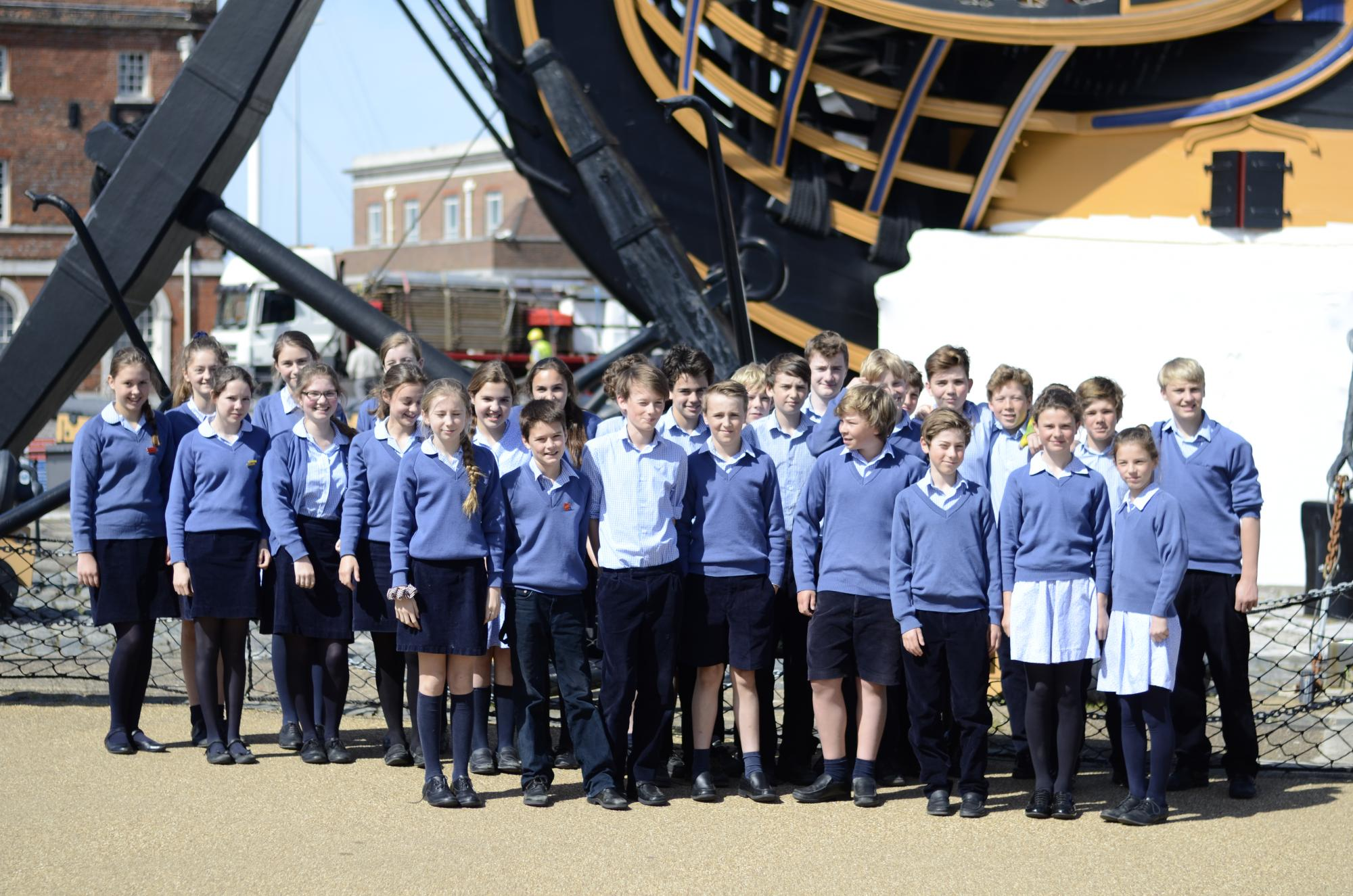 Walhampton at HMS Victory