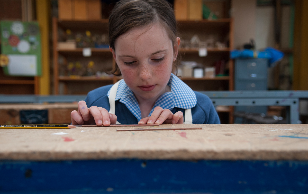 Walhampton Prep School Design Technology Lesson