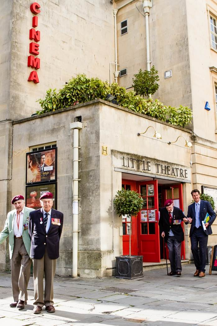 Titus Mills at the Little Theatre in Bath