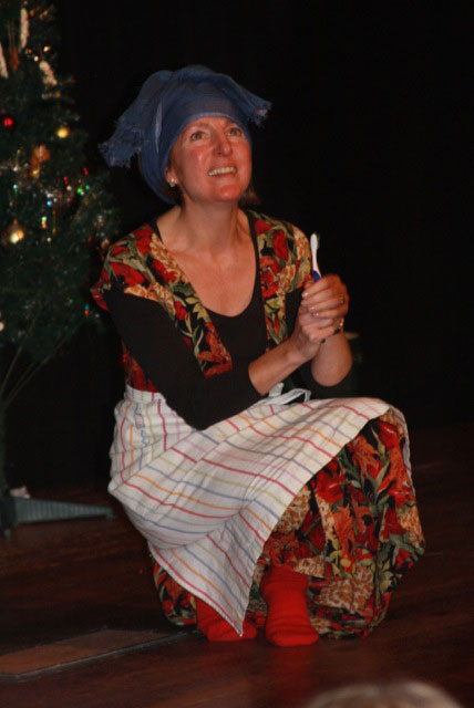 Walhampton Panto Amy Marshal as Cinderella